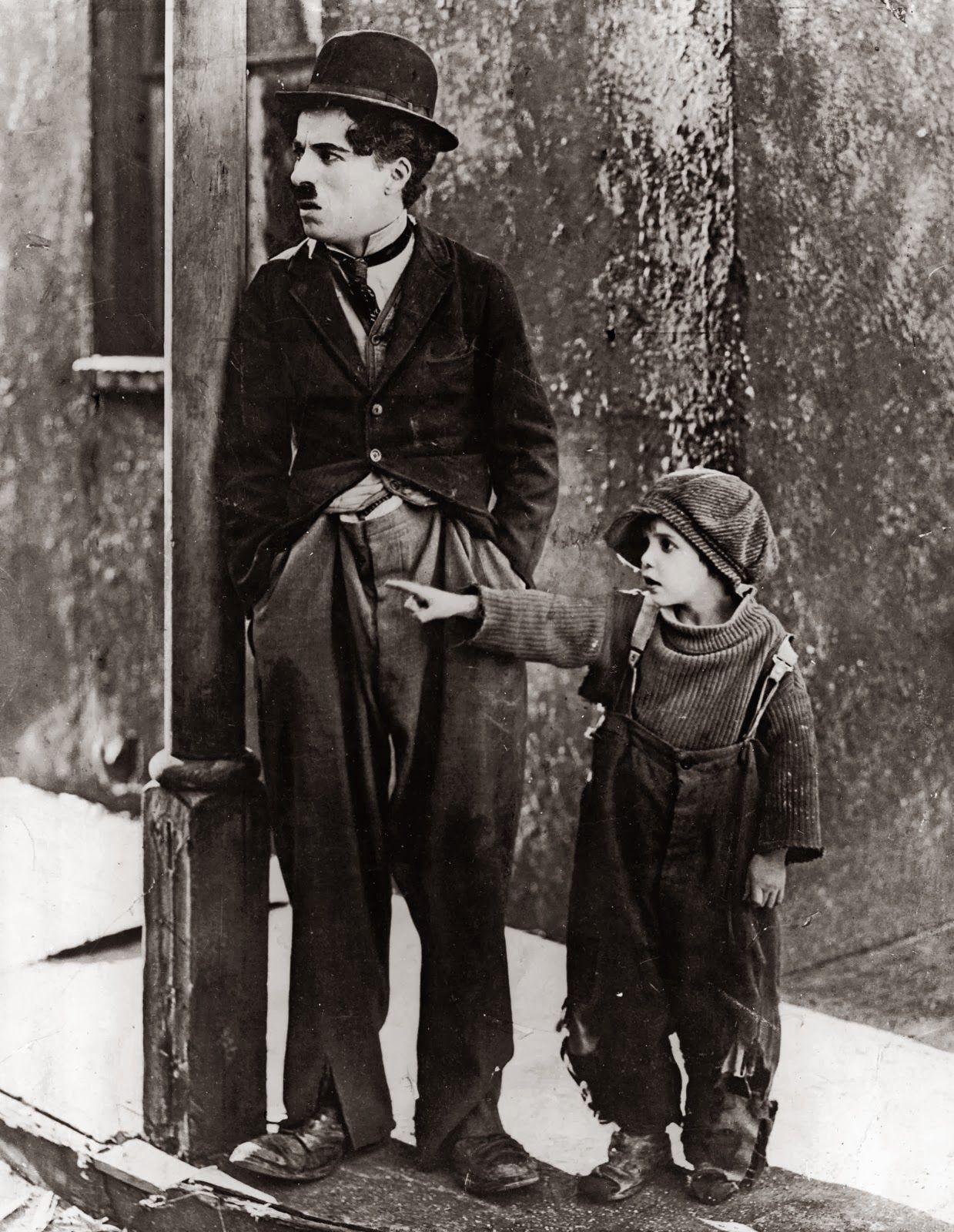 Resultado De Imagem Para Charles Chaplin Y El Nino Charlie Chaplin Chaplin Silent Film