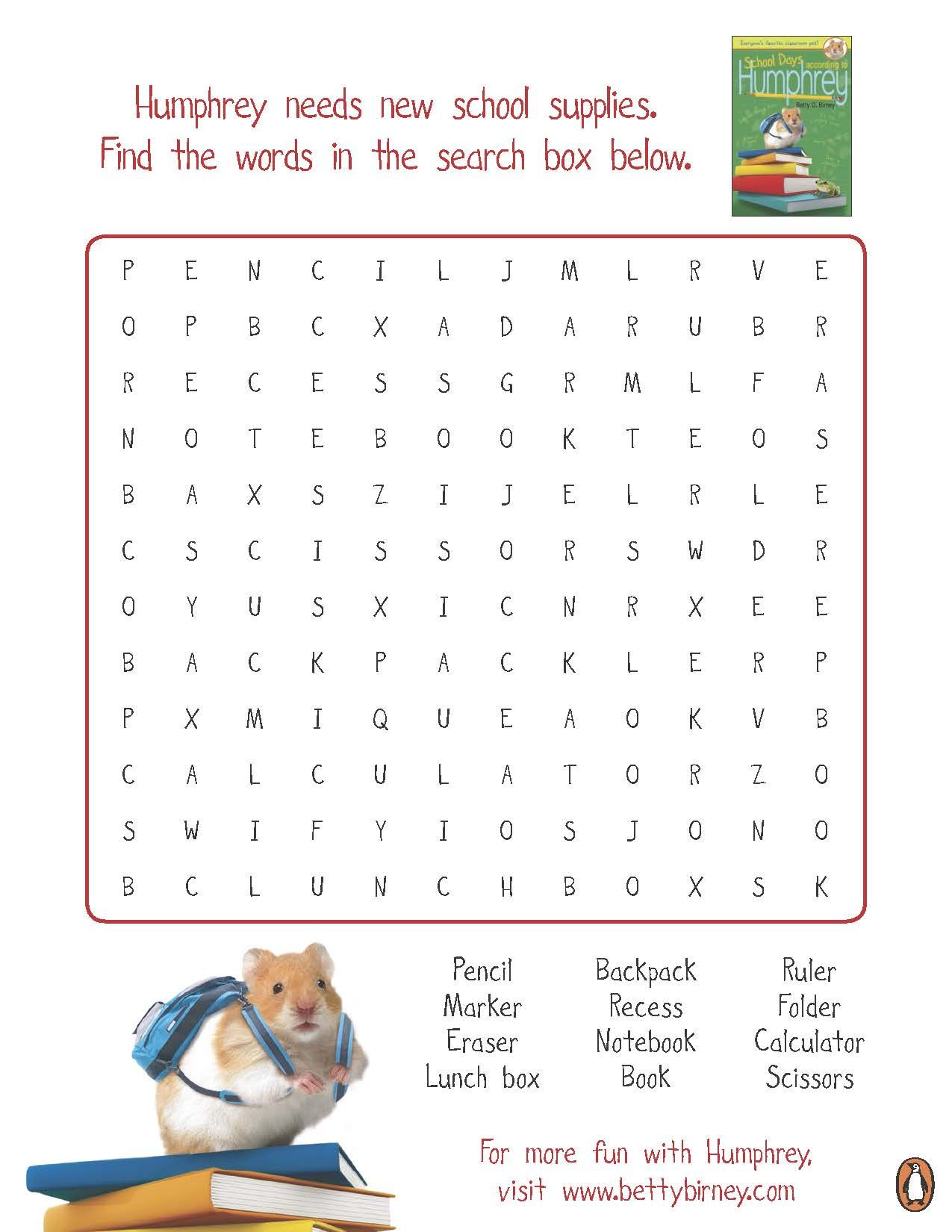 hight resolution of Humphrey's School Days Activity Sheets   Bfg activities