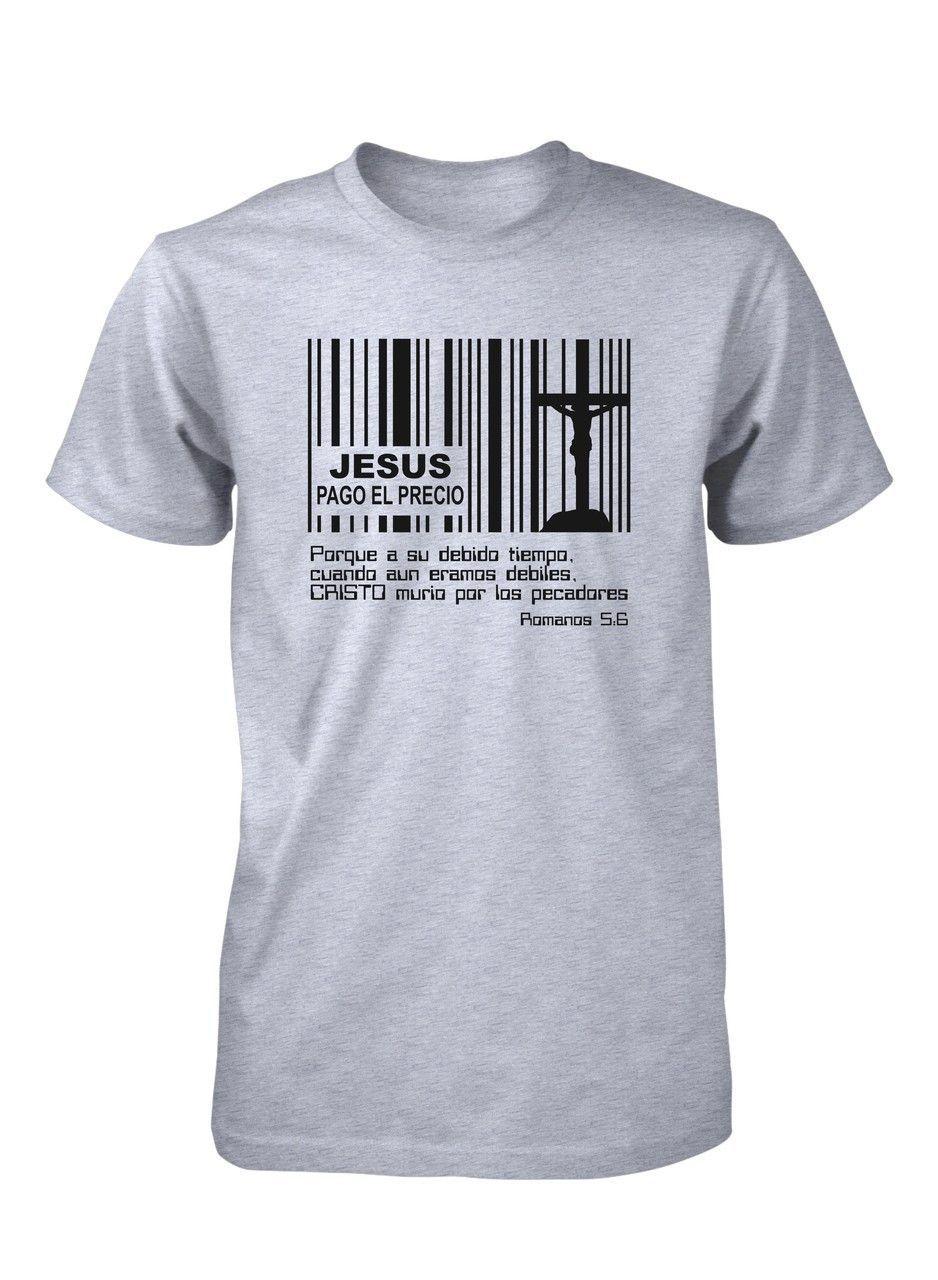 527b11494 Jesús Pago Precio Codigo Barras Cruz Pascua Resurreccion Camiseta ...