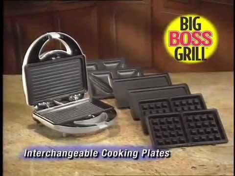 Big Boss Grill Commercial - As Seen On TV