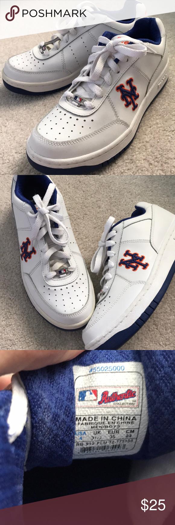 Reebok NY Mets sneakers fits wm sz 6