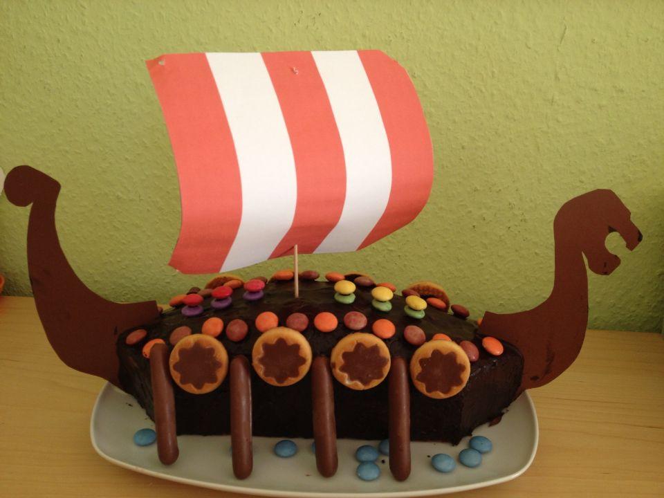 Wikinger Kinder Party Kuchen Wikinger Fur Kinder Wikinger