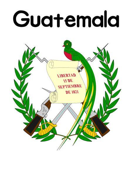 Free Guatemala Country Lapbook
