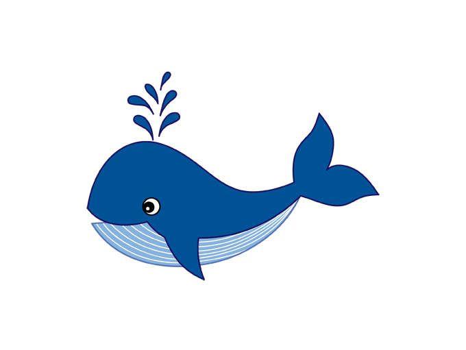 whale clipart digital vector whale sea ocean nautical animal rh pinterest com clipart whale and lighthouse clip art whale tail
