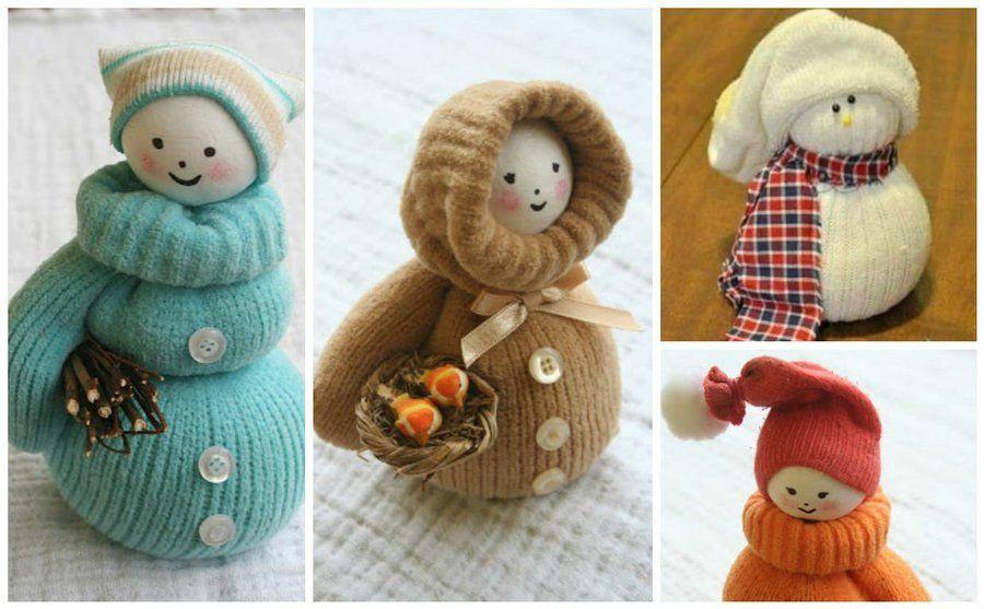 Ideas para los peques: Cómo hacer muñecos de nieve con guantes