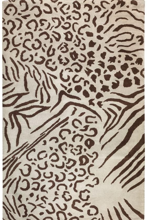 From The Metropolitan Collection This Contemporary Rug Will Bring Out Wild Side Of Any