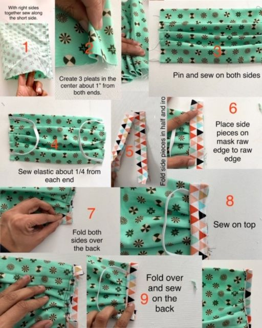 How to sew a face mask | The Stitching Scientist