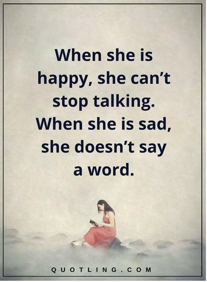 sad woman quotes