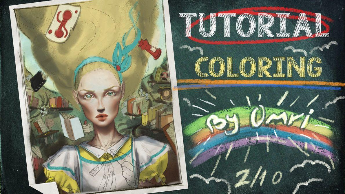 Tutorial: Coloring by OmriKoresh on DeviantArt