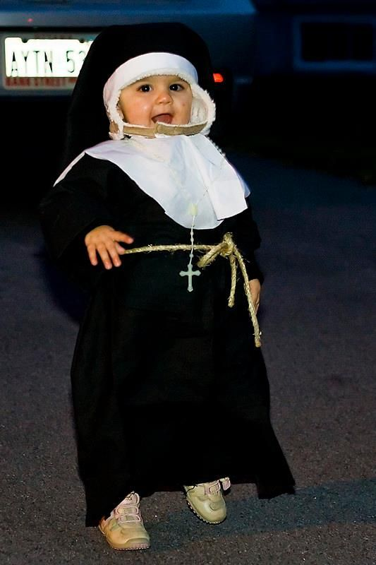 Child Nun Costume