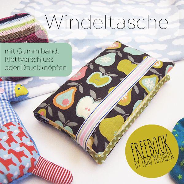 Ebook – Windeltasche von Frau Mathilda | nähen | Pinterest ...