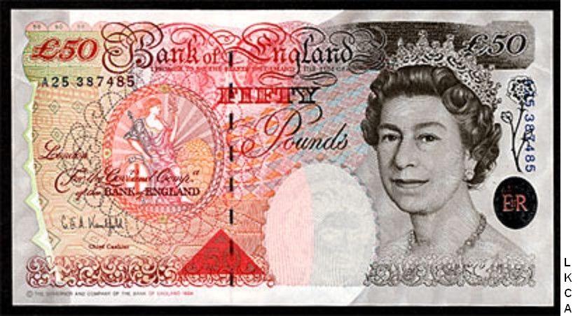£5 Great Britain Gem UNC FULL SET UK England QEII £50 £10 £20