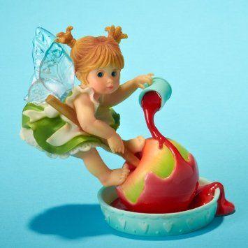 Amazon Com My Little Kitchen Fairies Red Candied Apple Fairie