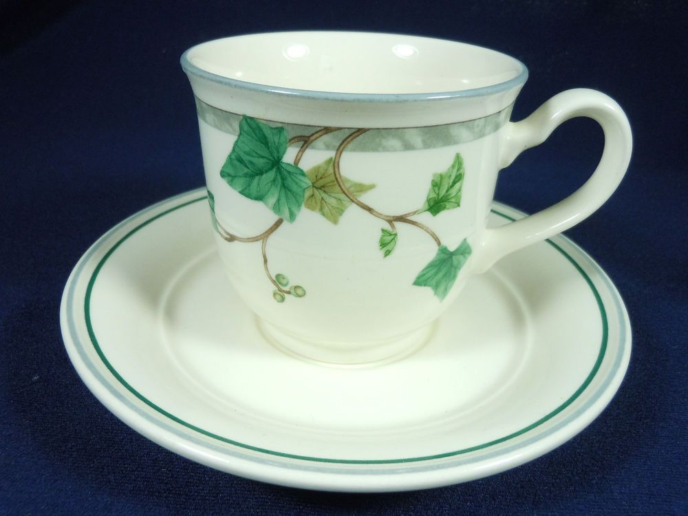 Noritake Ivy Lane Cup And Saucer Noritake Cup Saucer