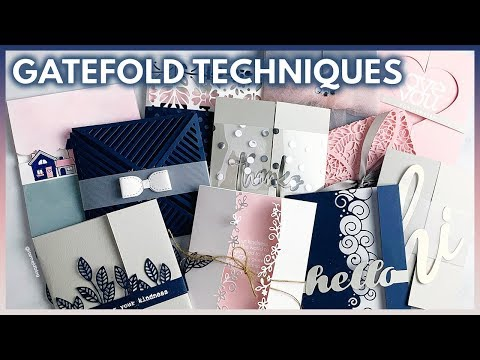 (318) 11 Easy DIY Gatefold Card Tutorials For Cards And