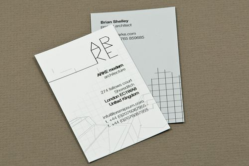architecture firm business card | business cards, business card