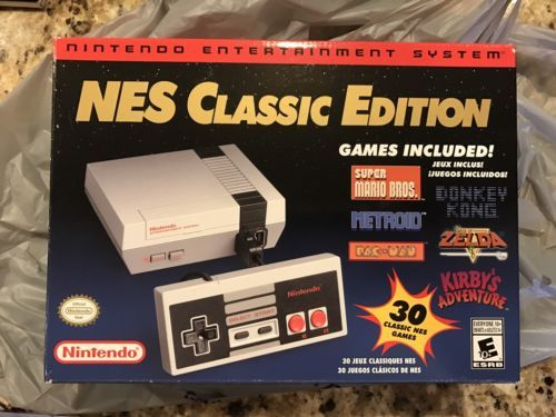 Nintendo NES Classic Edition Mini Console w/30 GAMES - New In Box - SHIPS QUICK! https://t.co/ZPSGSaGTG7 https://t.co/DmFJFMMe3s