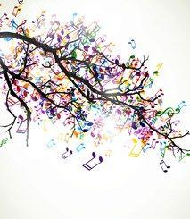 Music Wallpaper Music Wall Murals Music Tree Music Notes Drawing Music Painting