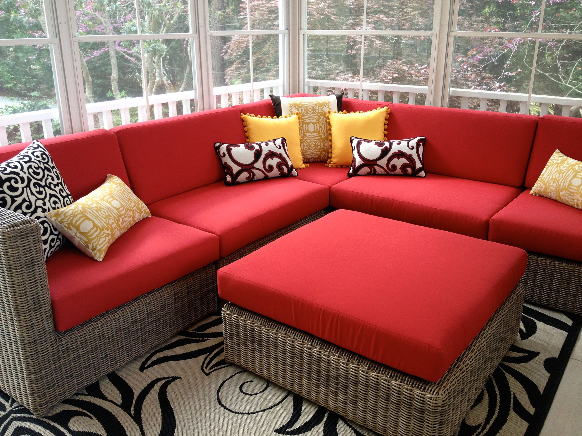 Outdoor Spaces   Mary Sherwood Lake Living and Interior ... on Living Spaces Outdoor Sectional id=37640