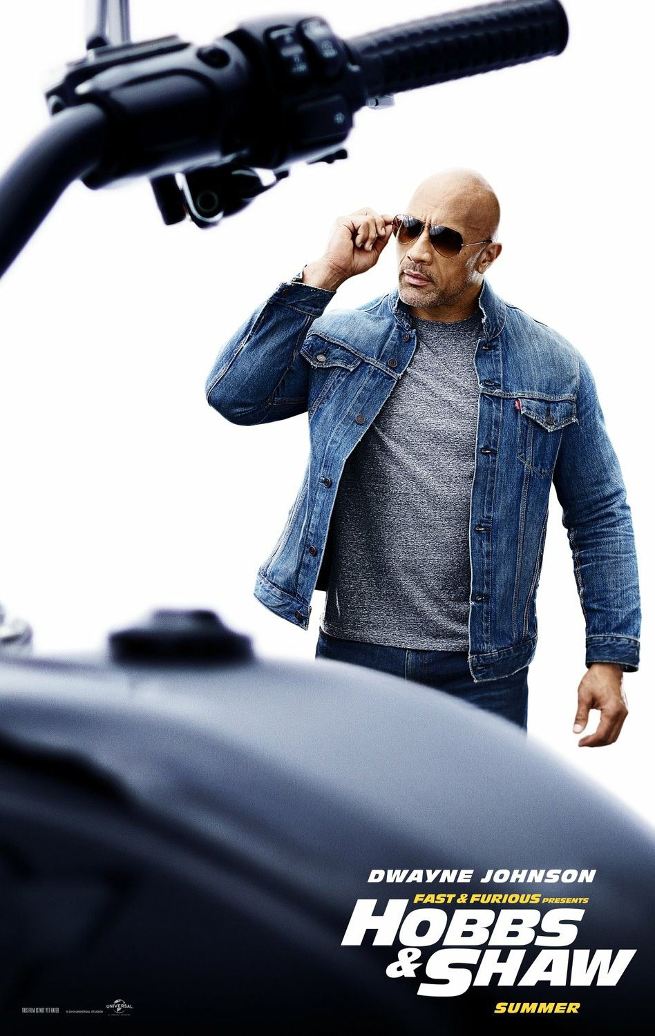 Fast And Furious Photo Fast Furious Presents Hobbs Shaw Poster Dwayne Johnson As Luke Hobbs Fast And Furious Dwayne Johnson Full Movies