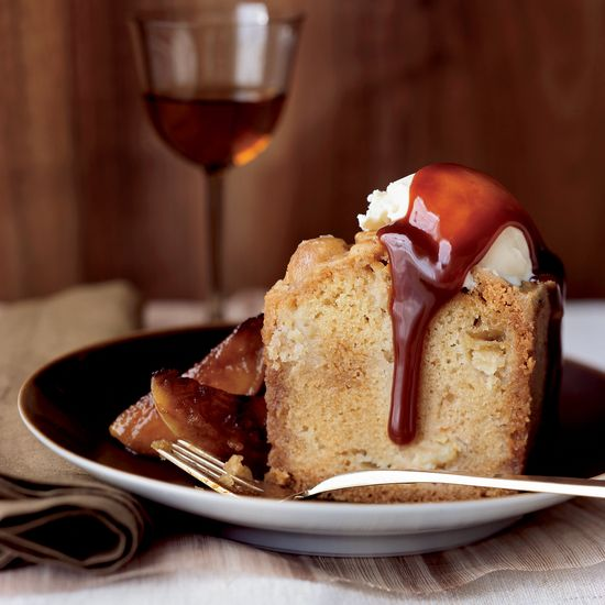 Apple Cake with Toffee Crust | Food & Wine Recipe