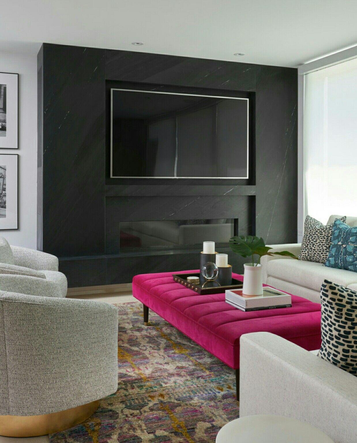 Large Flat Screen Tv Built In Trendy Living Rooms Living Room Designs Family Room Design
