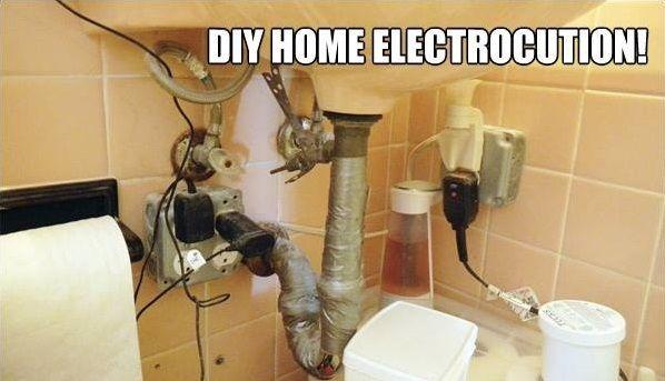 Wow Just Wow Diy Fail Diy Plumbing Home Diy Under Bathroom Sinks