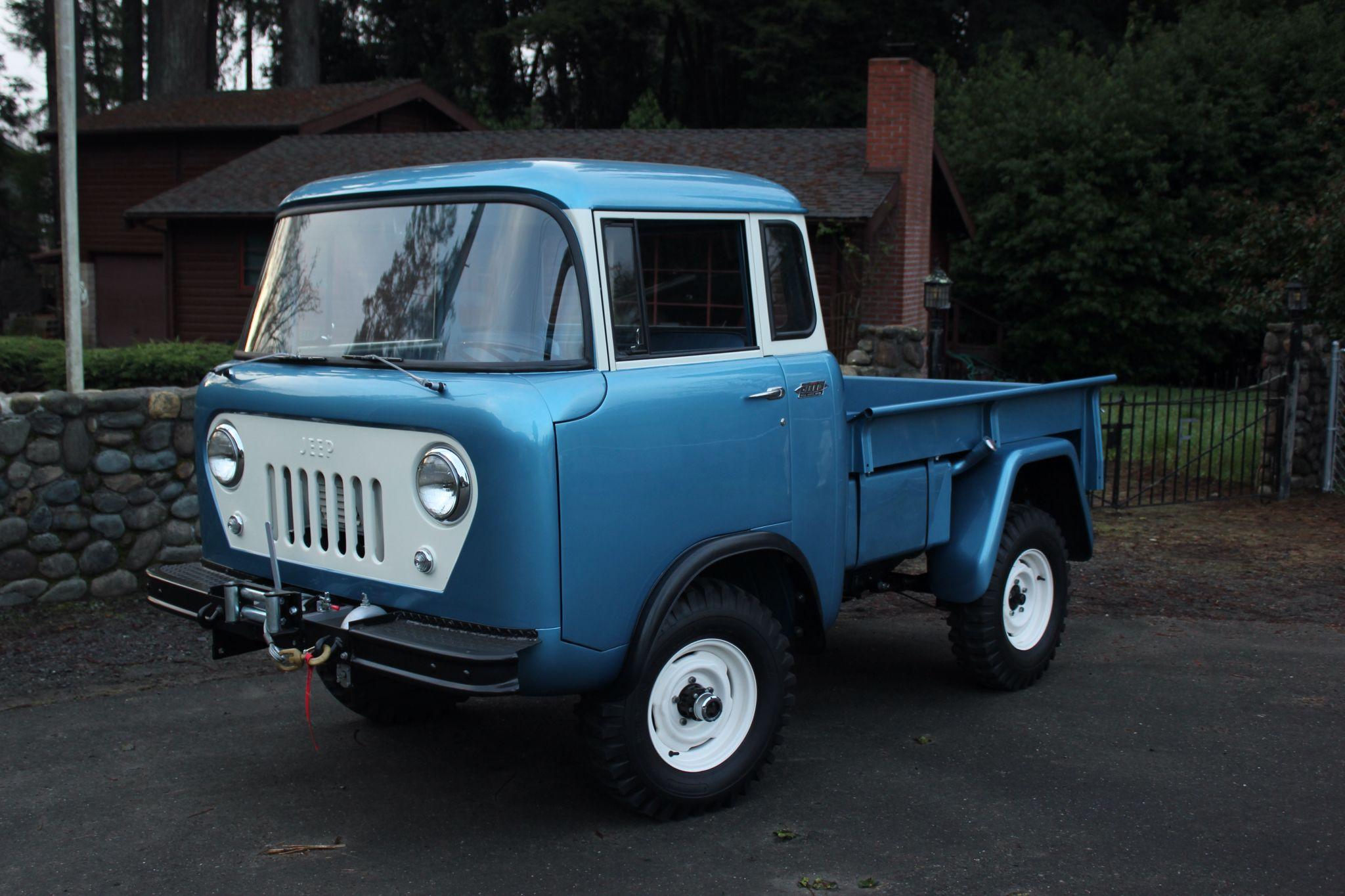 1963 jeep fc 150 willys america restorations