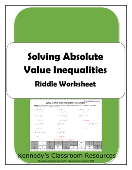 Graphing Absolute Value Worksheet Graphing Inequalities additionally Absolute Value Worksheet Photo Worksheets Printable Grade 7 Free For as well Inequalities Worksheet Math Maths Inequalities Worksheet Gcse besides  further absolute value inequality worksheet – woiuniversity moreover Absolute Value Inequality Worksheet Worksheet Absolute Value as well Kuta  Algebra 1  Absolute Value Inequalities Part 1   YouTube moreover Absolute Value Inequalities Extra Terms Absolute Value Inequalities besides Solving Absolute Value Equations Worksheet Beautiful Absolute Value additionally solving absolute value equations inequalities worksheet math together with How To Solve Absolute Inequalities Math 2 Solving Absolute Solving besides  as well Solving Absolute Value Inequalities   Riddle Worksheet   Math likewise  additionally Solving Absolute Value Inequalities   Riddle Worksheet   TpT as well Inequalities With Absolute Values On Both Sides Math Solving. on solving absolute value inequalities worksheet
