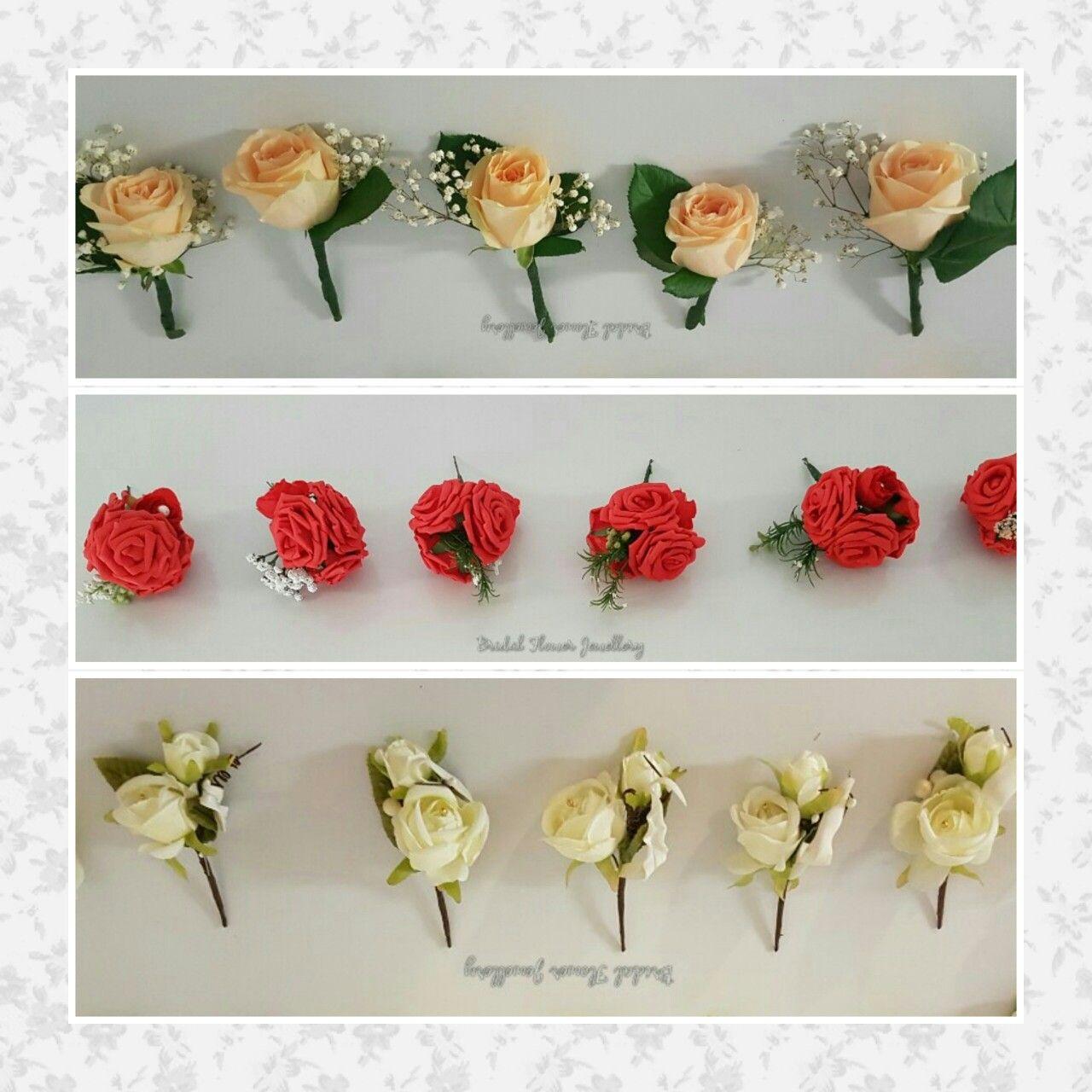 Fresh flowers by Bridal Flower Jewellery www.bridalflowerjewellery ...