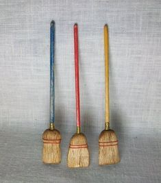 Miniature Broom  1:12 scale #broomdolls