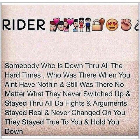 The Real Definition Of A Ride Or Die Real Talk Quotes Saying