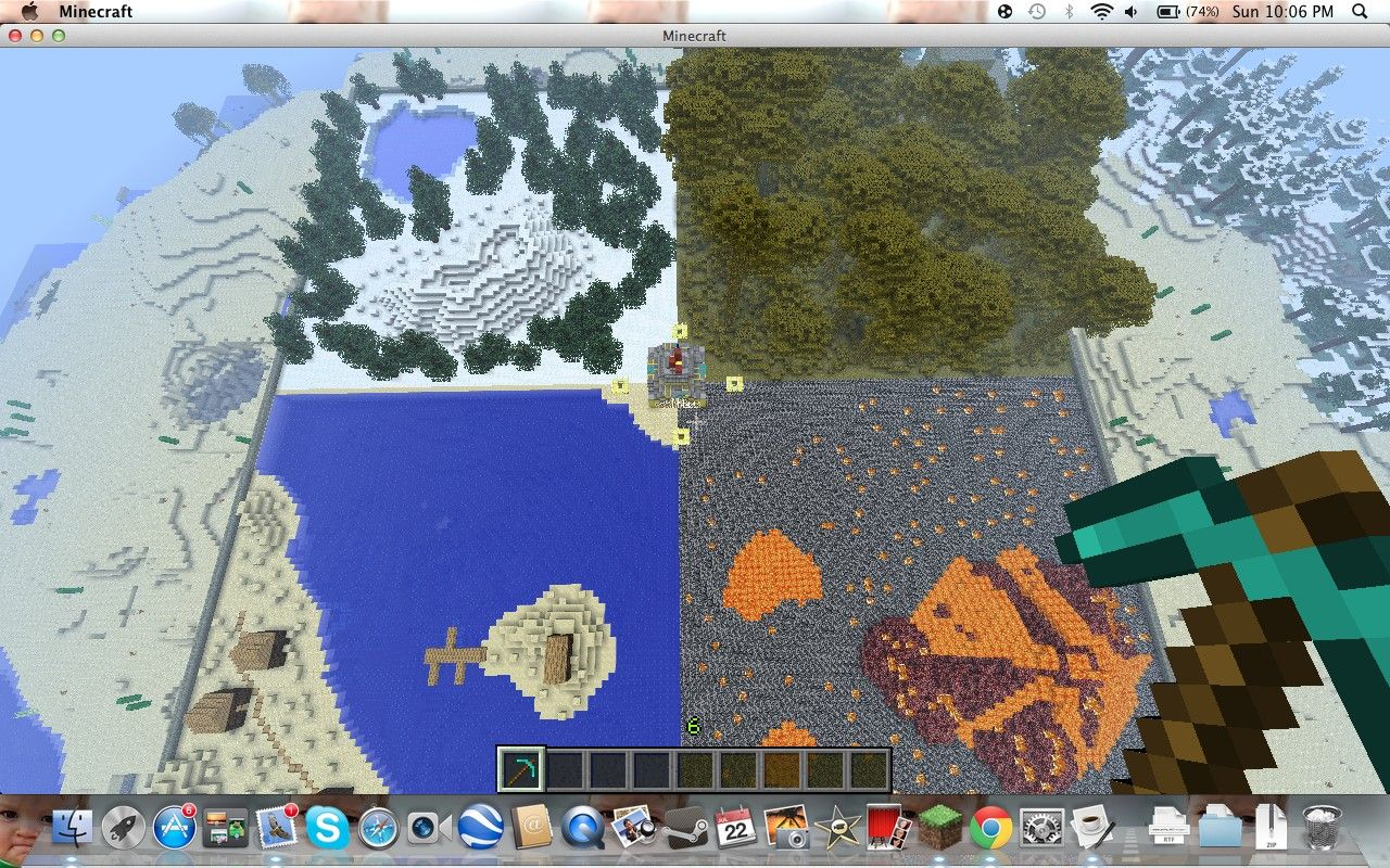 minecraft survival games map HUNGER GAMES CUSTOM MAP NICE SPAWN SURVIVAL Mi