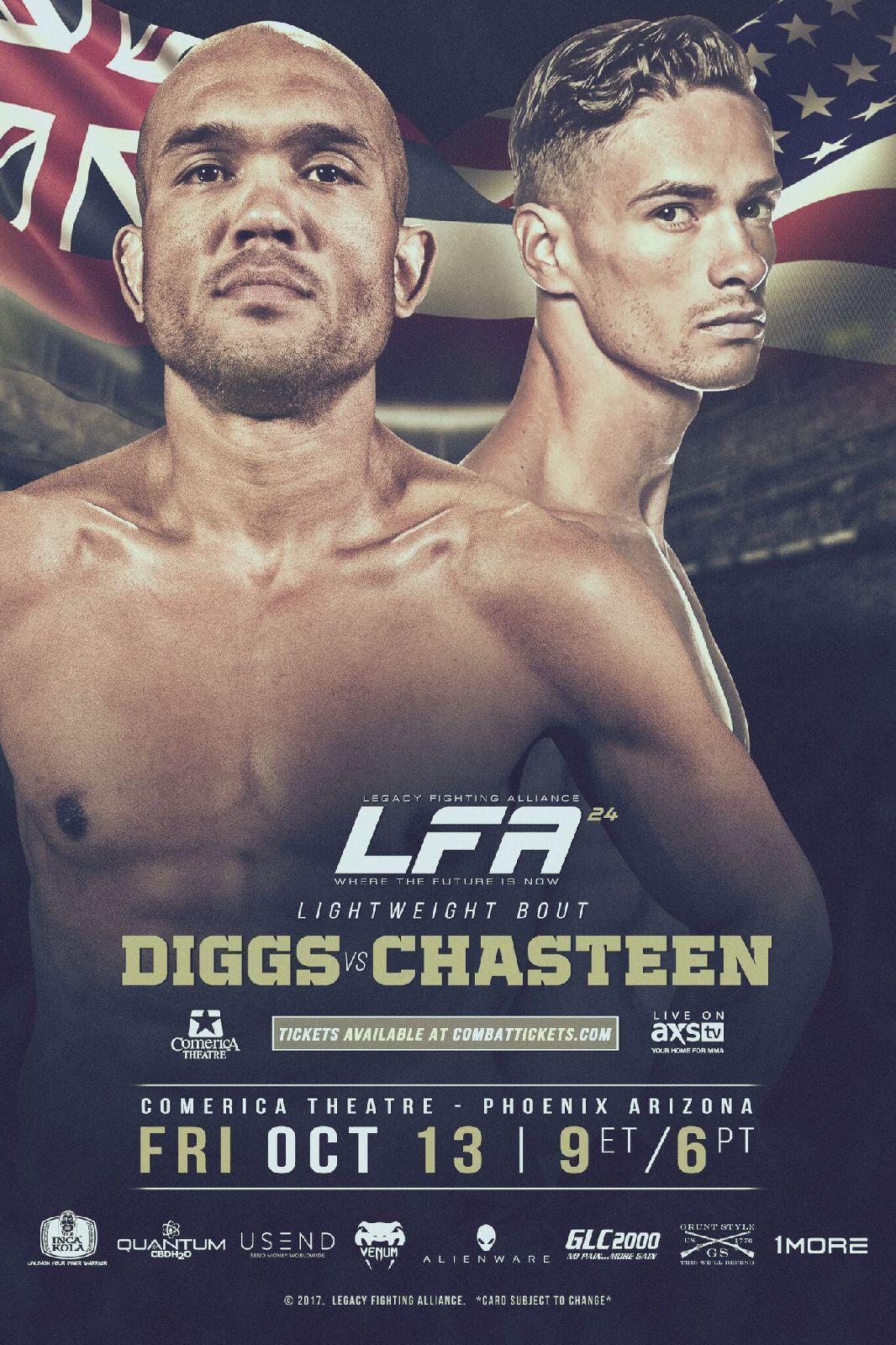 LFA 24 Phoenix AZ Fri Oct 13 @ Comerica Theatre – MMA Fight