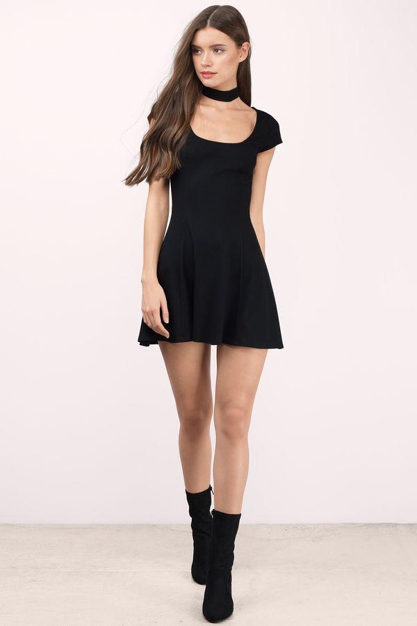 84a71d4b632 Rose Short Sleeve Skater Dress in 2019