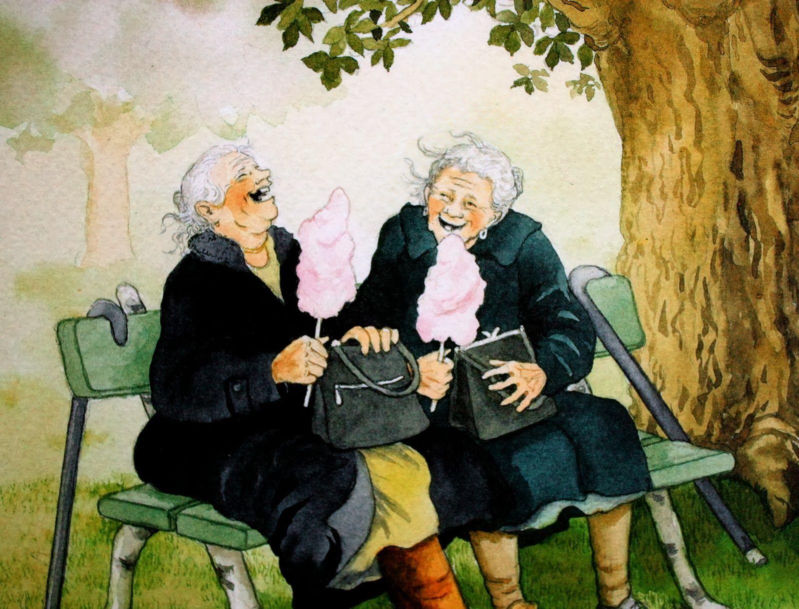 Картинки веселых старух
