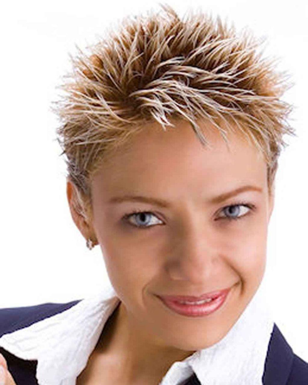 24 fresh short spiky hairstyles for women: short spiky