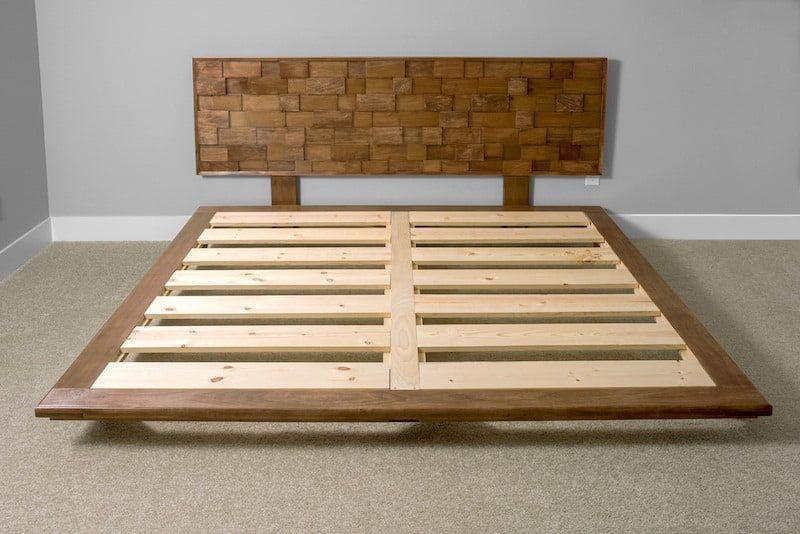 This Diy Platform Bed Frame Is Beautiful And Modern Diy Platform Bed Plans Diy Platform Bed Frame Platform Bed Plans