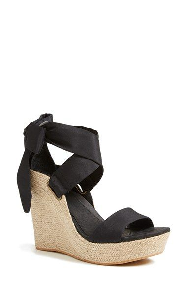 Free shipping and returns on UGG® Australia 'Jules' Platform Wedge Sandal (Women