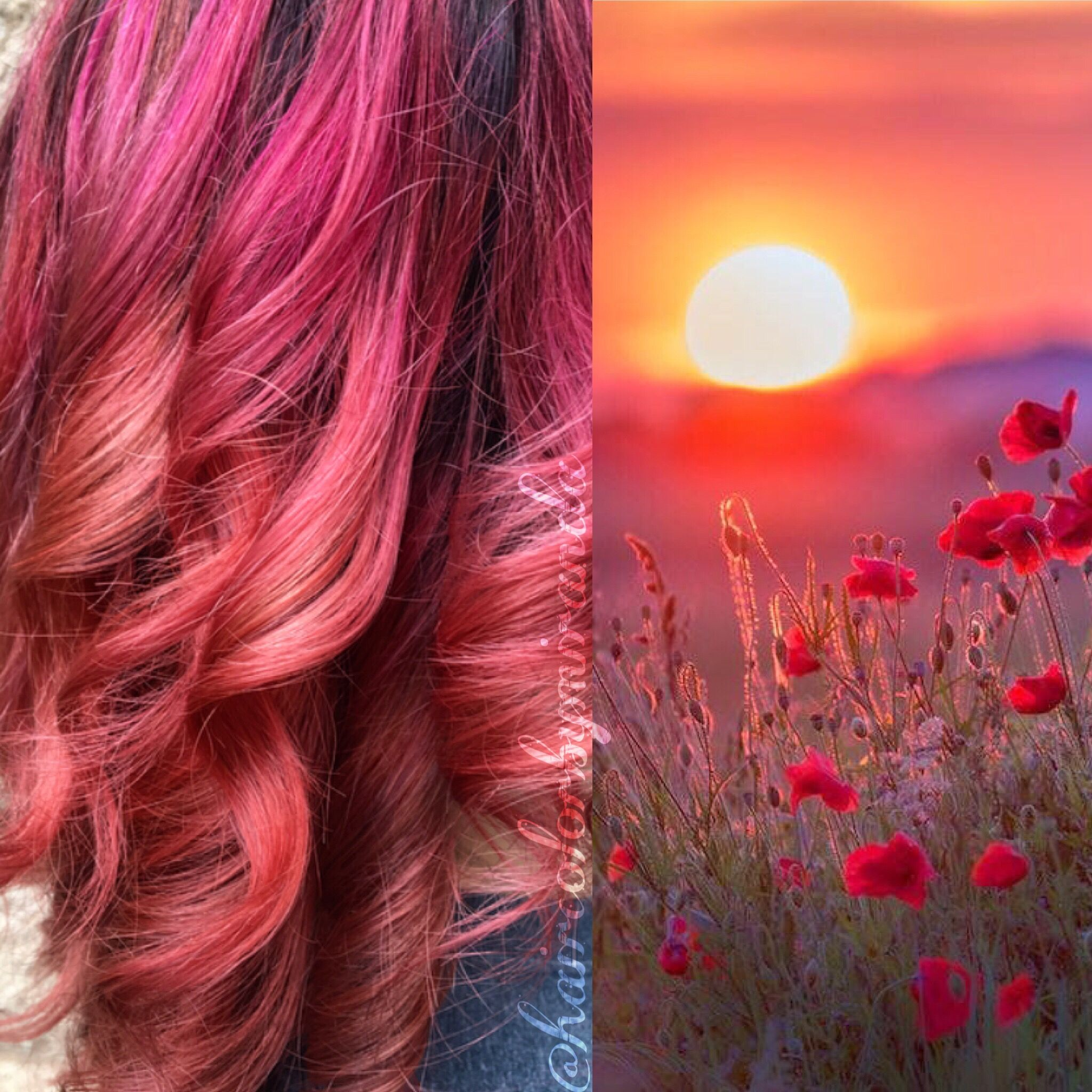 Matrix Watercolors Hair Color Pink Quartz Coral Color Melt By