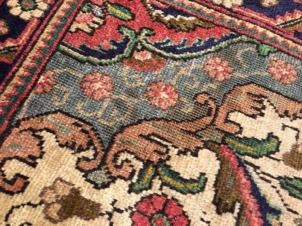 9x12 Hand Knotted Persian Iran Area Rug Woven Wool Rugs 9 X 12