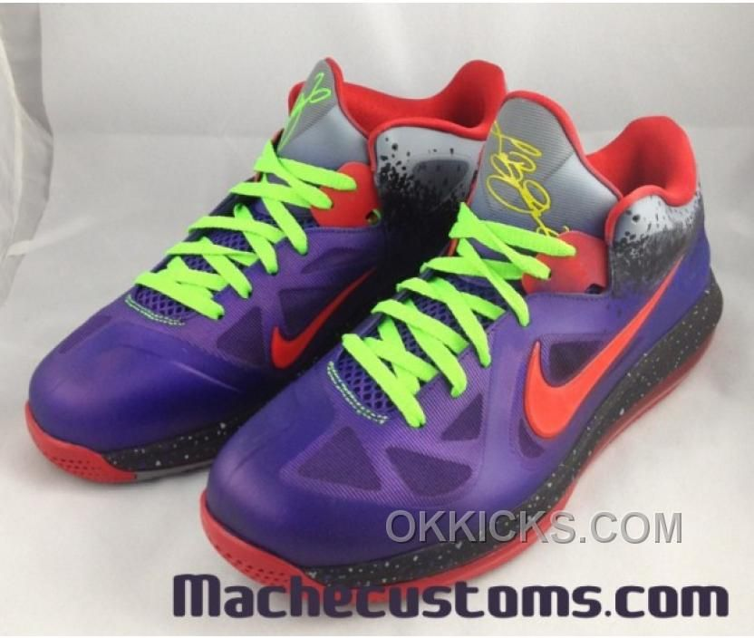 Nike Lebron 9 Low Shoes Nerf Custom TopDeals