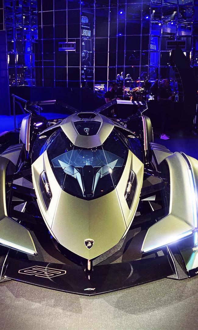 Lamborghini Lambo V12 Vision Gt Lambo Lamborghini Vision In 2020 Super Cars Concept Cars Best Luxury Cars