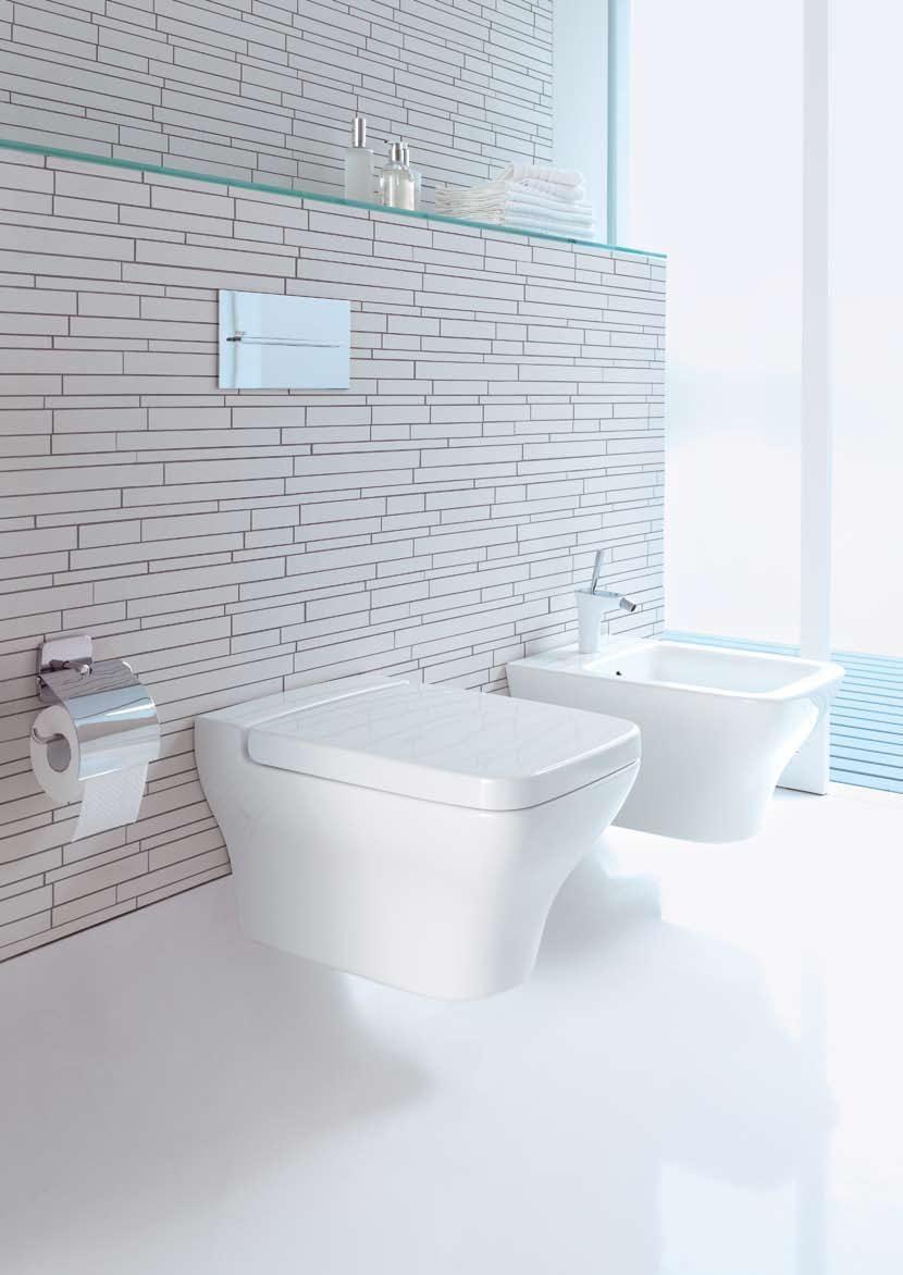 Bathroom Impressive Wall Mount Toilet Tank Design Ideas With Stunning White Ceramic Mounted