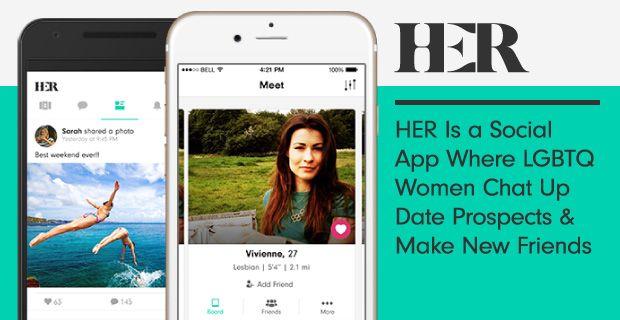 Lesbian social media apps
