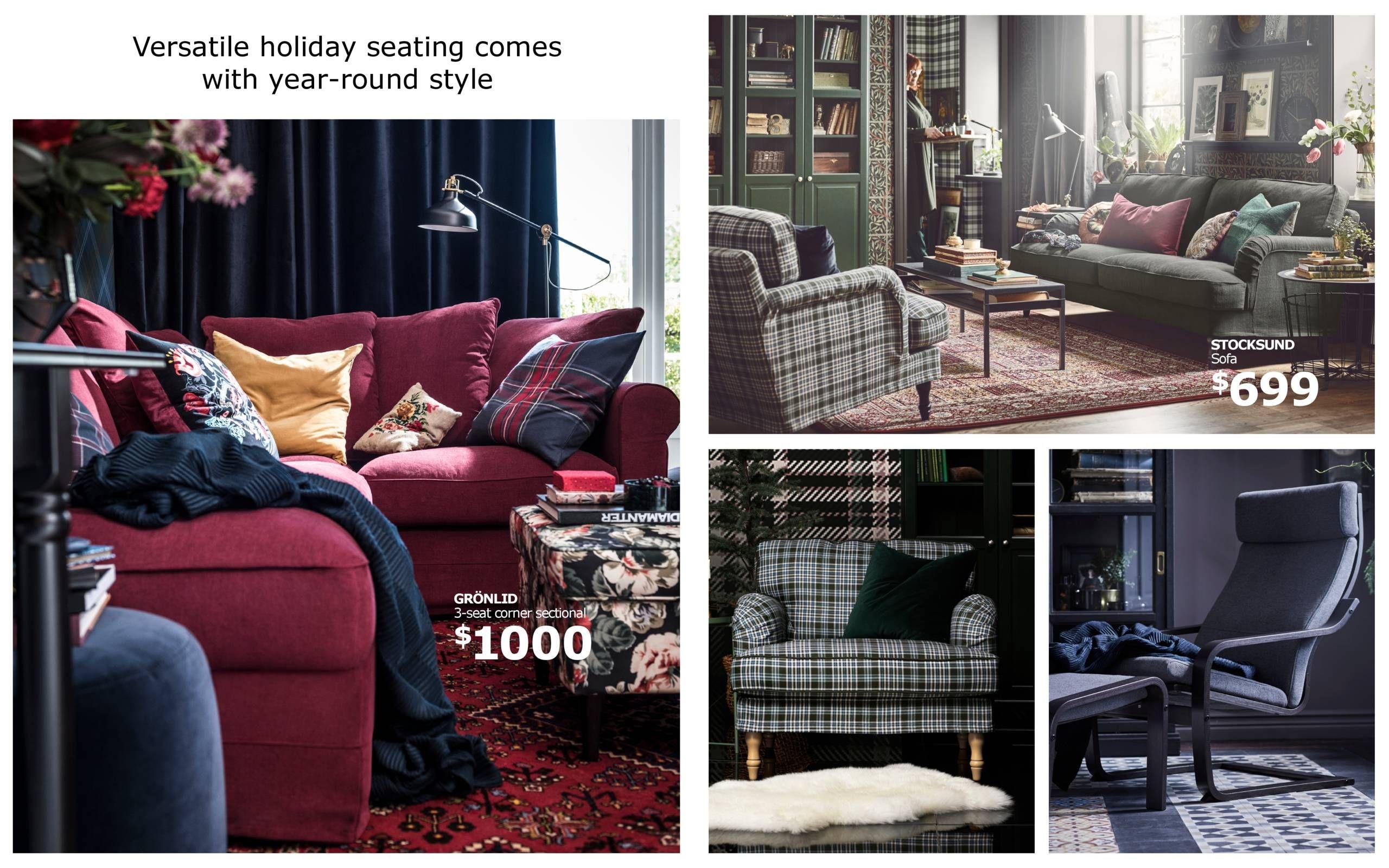 Holiday Essentials Guide   Home decor, Cozy room, Ikea home