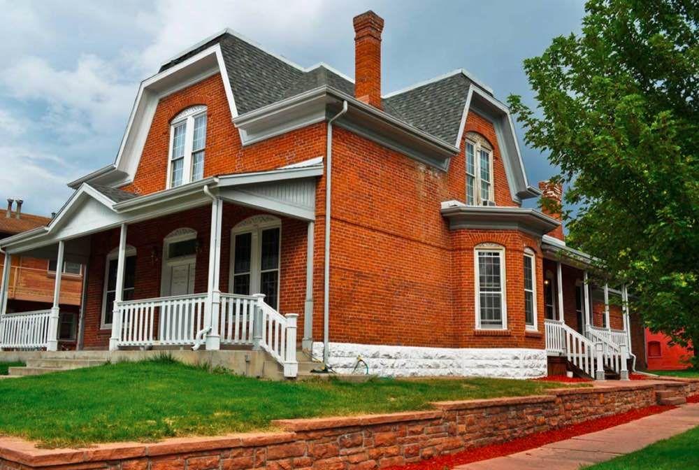 16 Most Popular Roof Types Brick Cladding Exterior House Renovation Craftsman Exterior