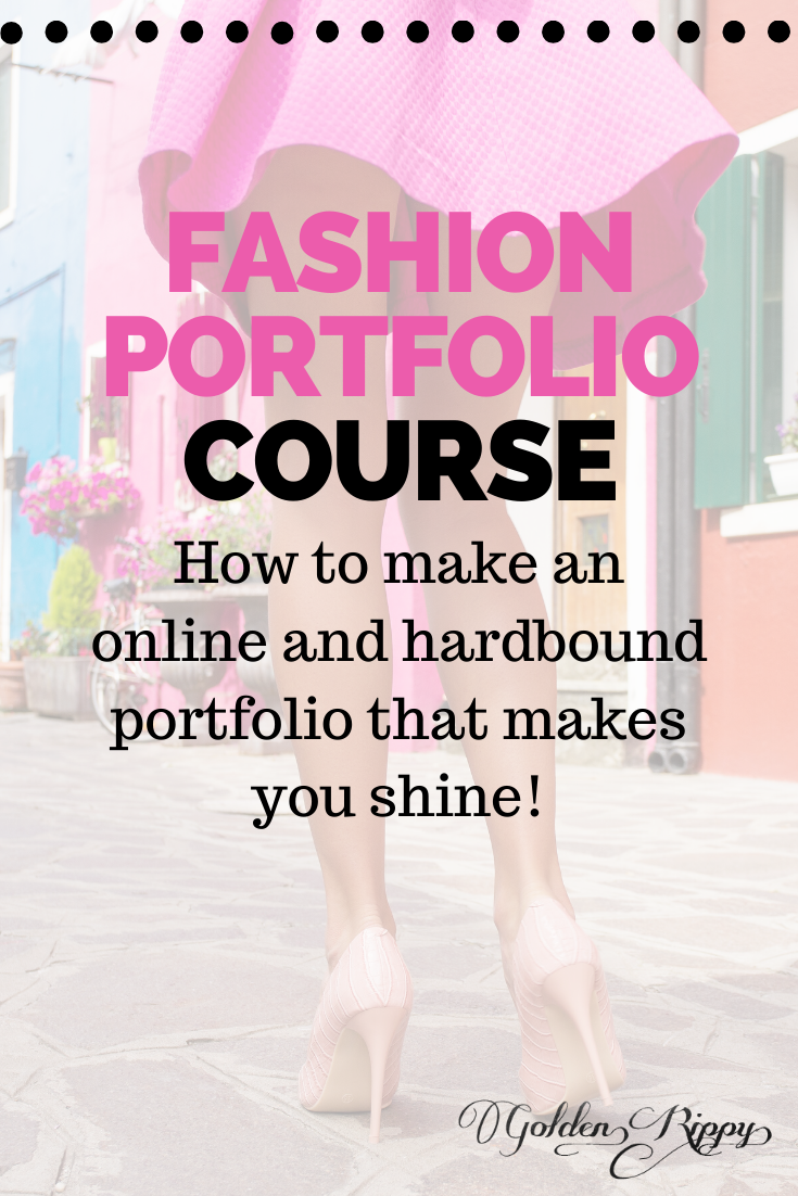 Ready to stand out with your portfolio? Use these tried and true templates that have snagged big name clients for us. Make your fashion portfolio in an afternoon and get clients in your sleep. #fashion #illustration #portfolio #marketing #course #templates #blueprint #sewing