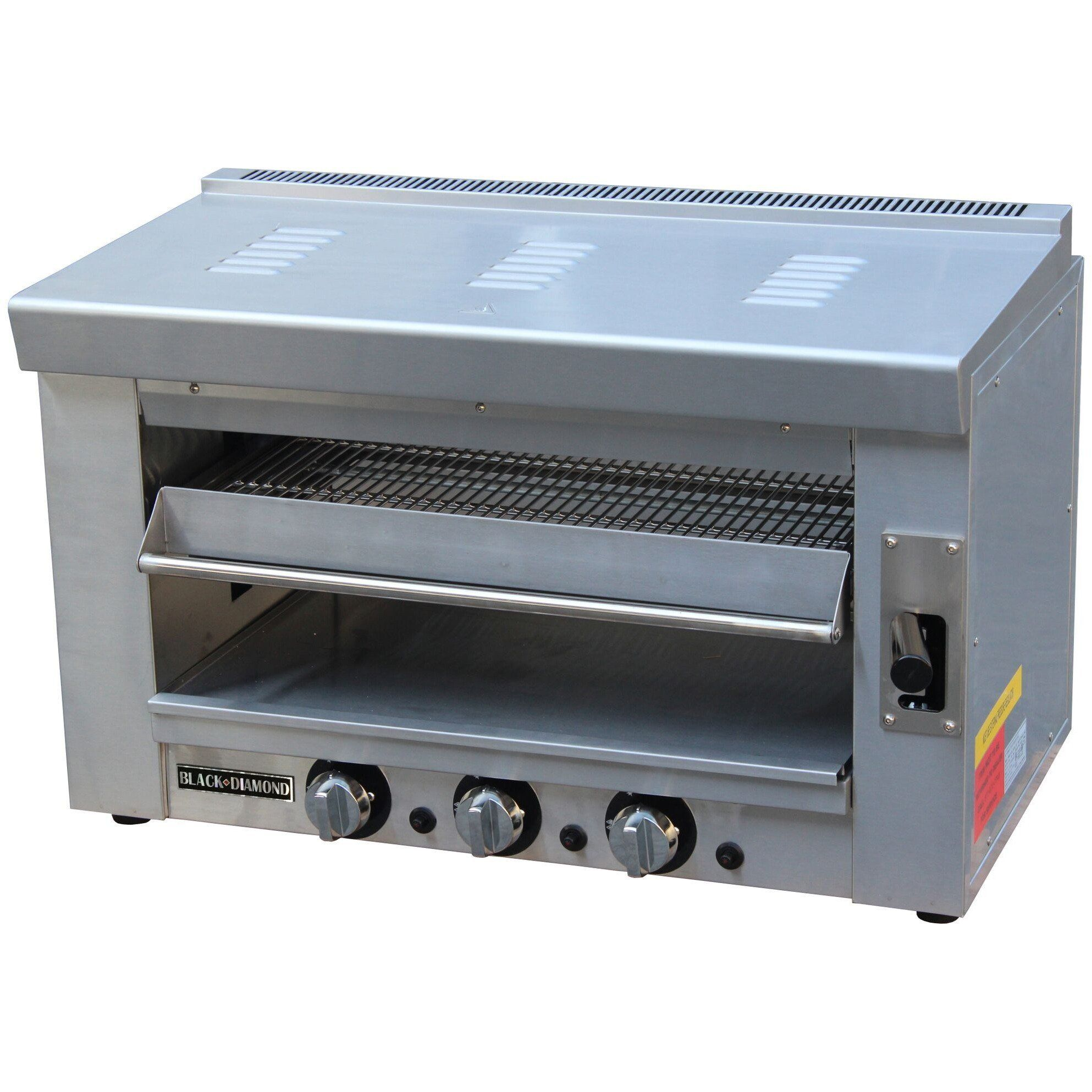 Commercial Kitchen Heavy Duty Natural Gas Salamander 35\