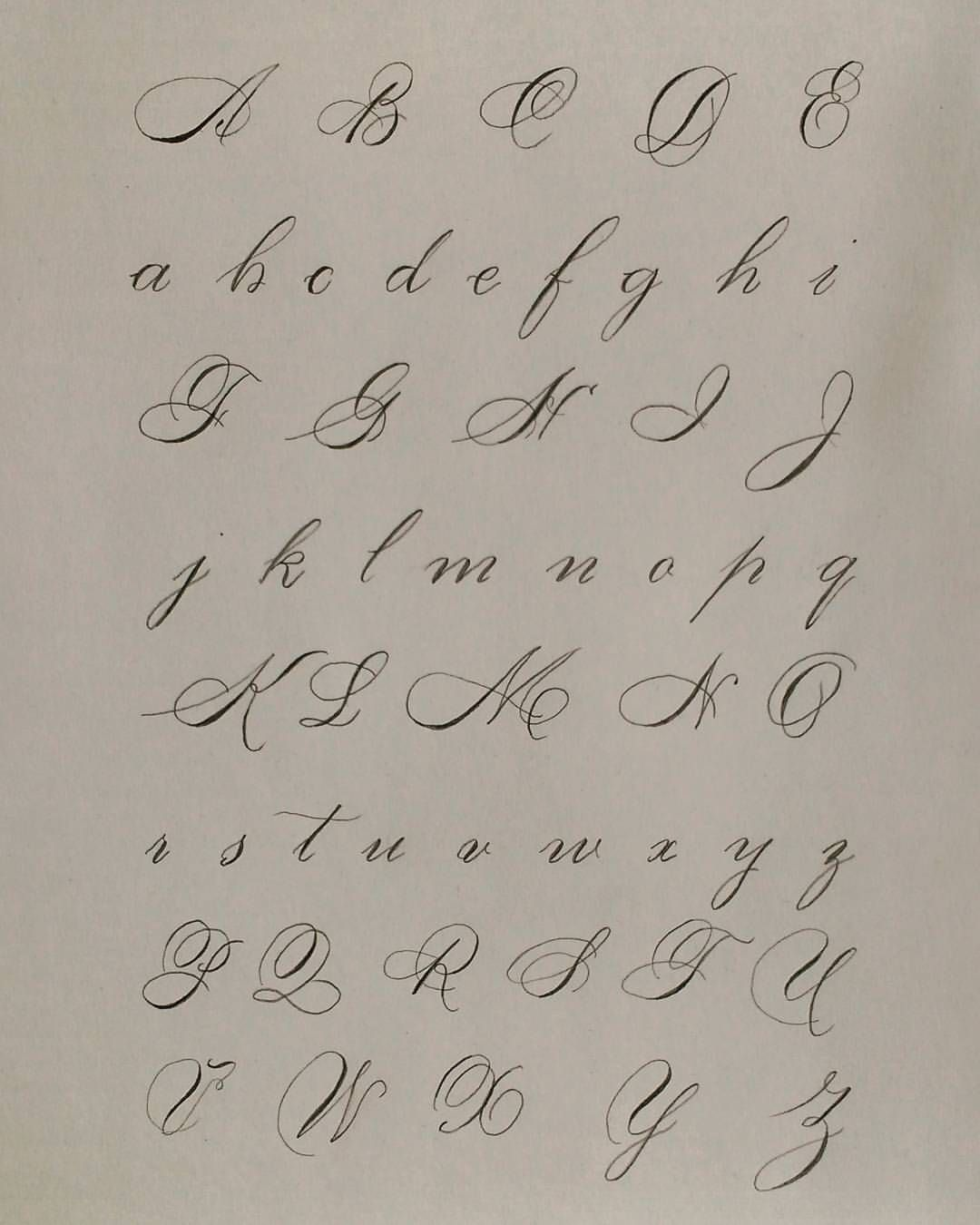 """Calligraphy Cursive Capital Letters : calligraphy, cursive, capital, letters, Lücy, Instagram:, """"Capital, Lowercase, Alphabet, #lettering, #caligraphy, Cursive, Fonts, Alphabet,, Calligraphy, Handwriting"""